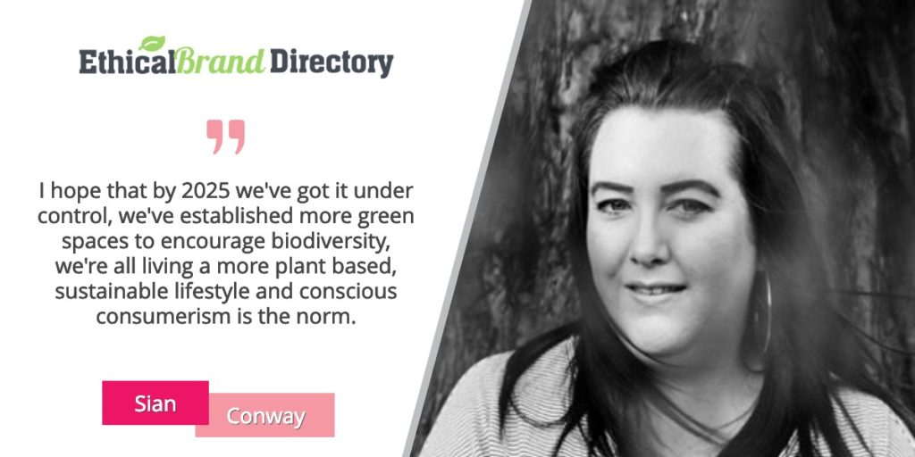 Sian Conway Speaker at Going Green 2019