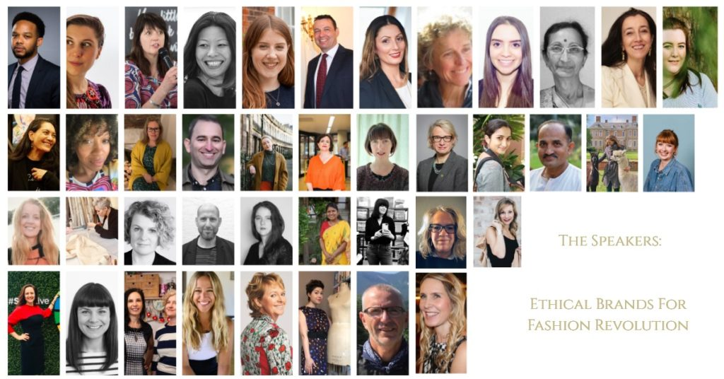 Ethical Brands for Fashion Revolution 2020   Online Event Speakers   Line up