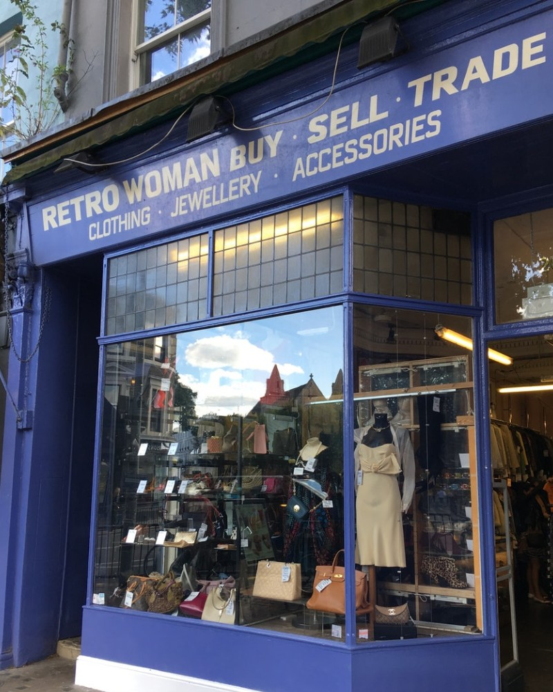 Retro Man Retro Woman Shop Front