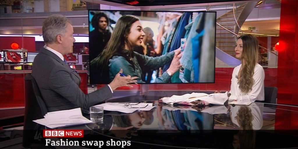 Ethical Brand Directory BLOG Roberta Lee on BBC News Discussing Clothing Swaps