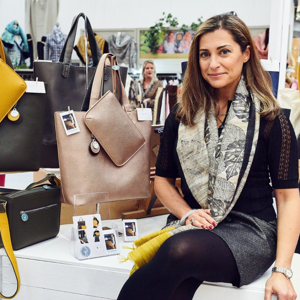 Giovanna Sess-Knotts | Founder of The Morphbag By GSK | Vegan Leather Handbag, Tote and Clutch Set