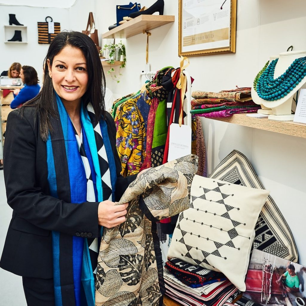 Harjit Sohotey-Khan | Founder of Jewelled Buddha | Ethical Fashion and Lifestyle Brand | Upcycled Jewellery and Scarves
