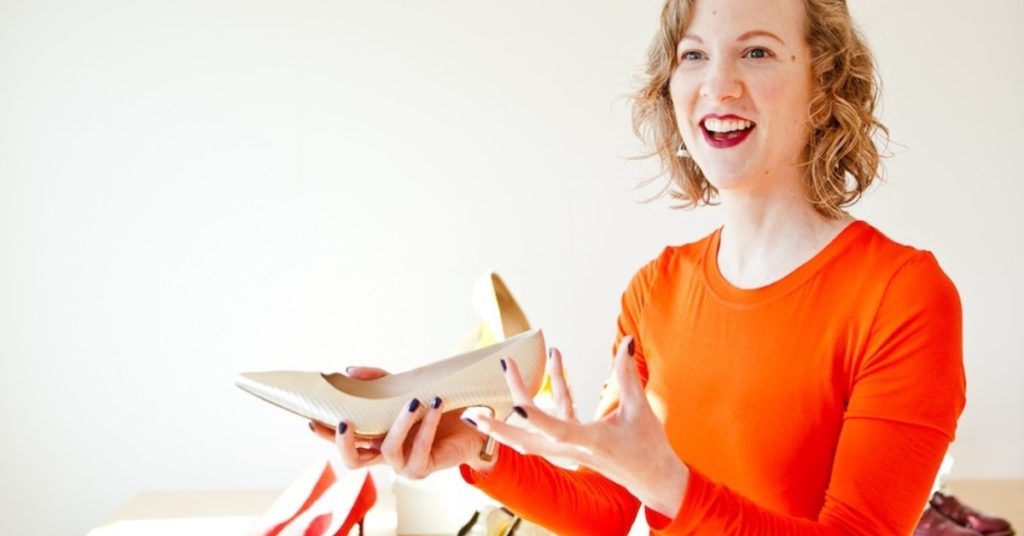 Susannah Davda, Creating Sustainable Footwear Webinar for Ethical Brand Directory