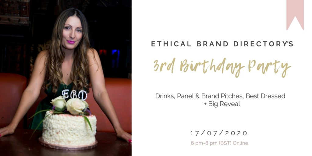 Ethical Brand Directory 3rd Birthday_ 17 July 2020 - 2160x1080px