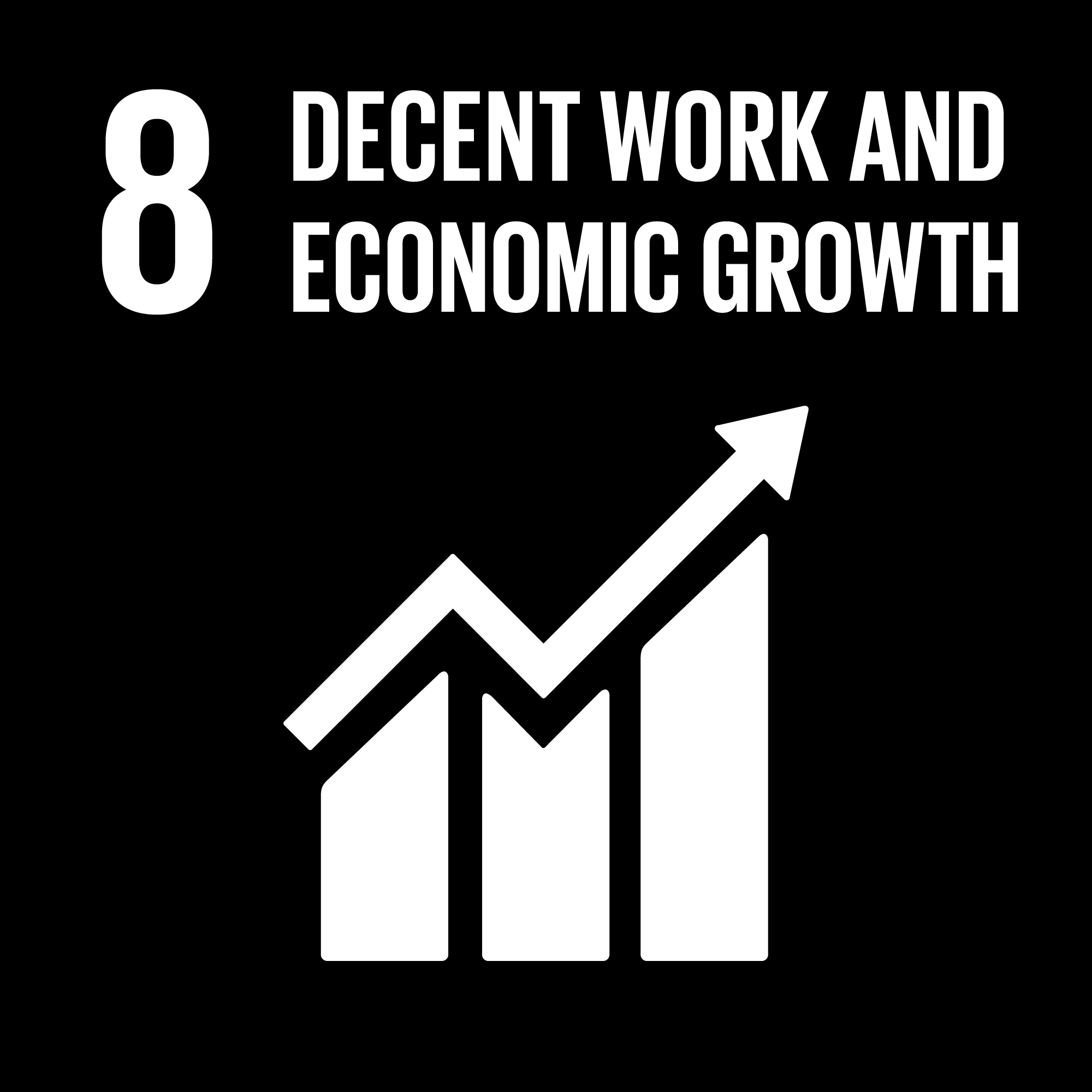 Sustainable Development Goals - 8 - Decent Work and Economic Growth