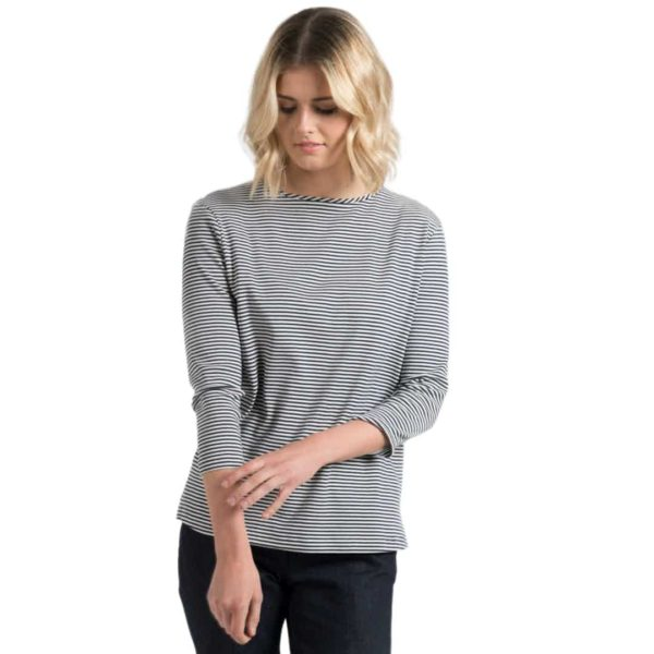 The White T-Shirt Co Breton Stripe T-Shirt