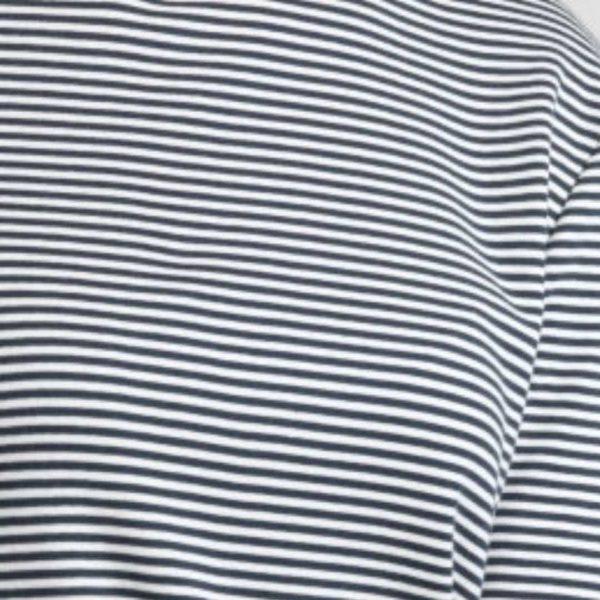 The White T-Shirt Co Breton Stripe T-Shirt Sample