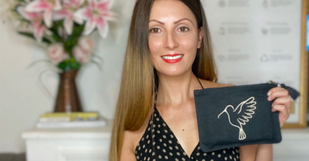 Ethical Brand Directory Blog | How do I know what brands I can trust? | Roberta Lee with From Belo Sonia Pouch
