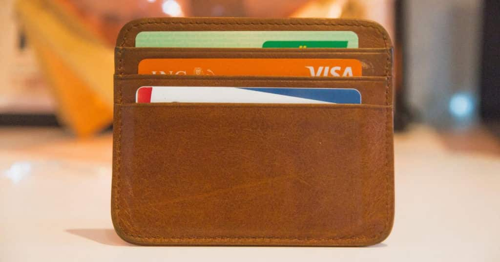 Ethical Brand Directory Blog | Top 10 Tips for Going Green | Wallet with bank cards