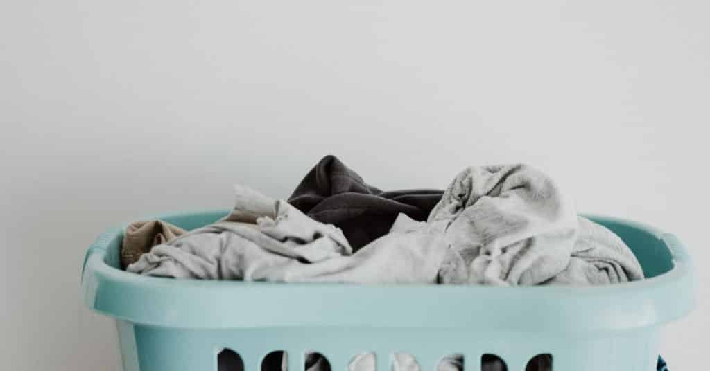 Ethical Brand Directory Blog   Caring for your white t-shirt   Laundry basket