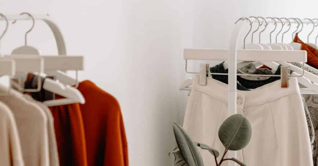 Ethical Brand Directory Blog | Conscious Shopping: How Small Changes Can Make a Big Difference | Clothing rack