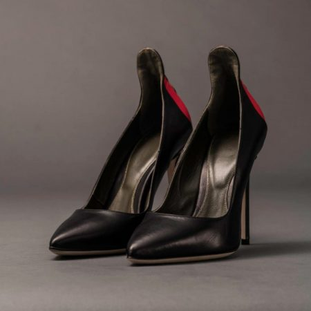 Anthony Stoket | Womens Ceremony Black Point Heel | Ethical Brand Directory