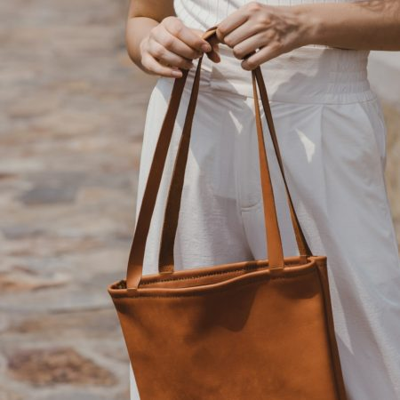 Artisan & Fox | Sach Leather Tote Bag Tan | Ethical Brand Directory