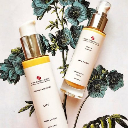 Bare Faced Skin | Pumpkin Borage Lift Body Lotion | Ethical Brand Directory