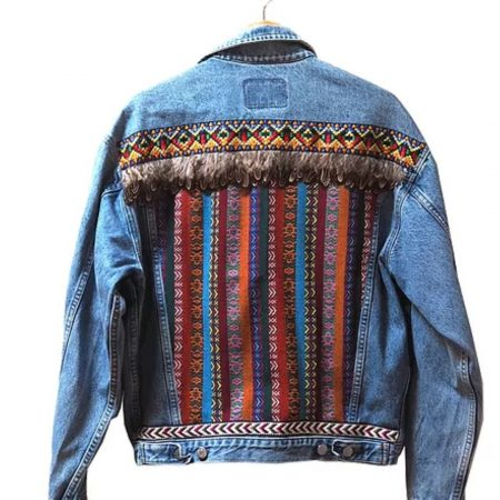 Anyo Stories - Blue Denim Jacket - Sustainably made   Ethical Brand Directory