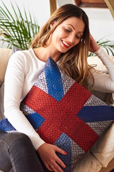 Ethiqana | Union Jack Pillow Gift | Ethical Brand Directory
