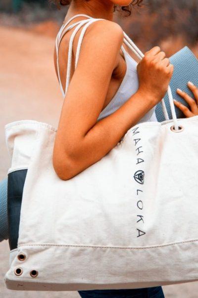 Maha Loka Tote Bag | Ethical Brand Directory
