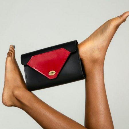 Tatum Diamond | Handcrafted Environmentally Conscious Clutch Bag | Ethical Brand Directory