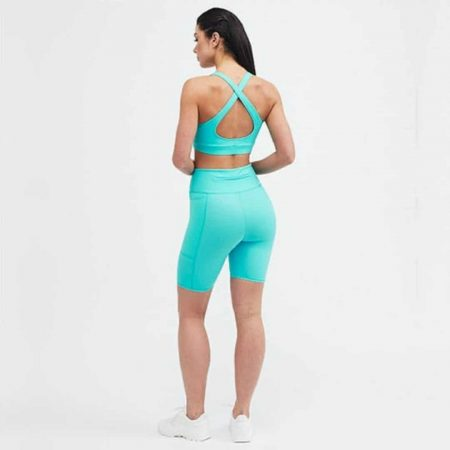 Belles of London | Blue Gym Wear | Ethical Brand Directory